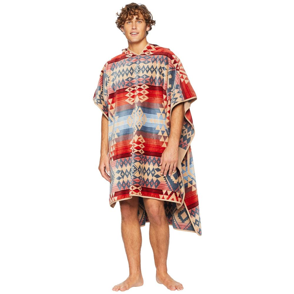 ペンドルトン Pendleton レディース ビーチタオル フード 水着・ビーチウェア【Jacquard Adult Hooded Towel】Canyonlands