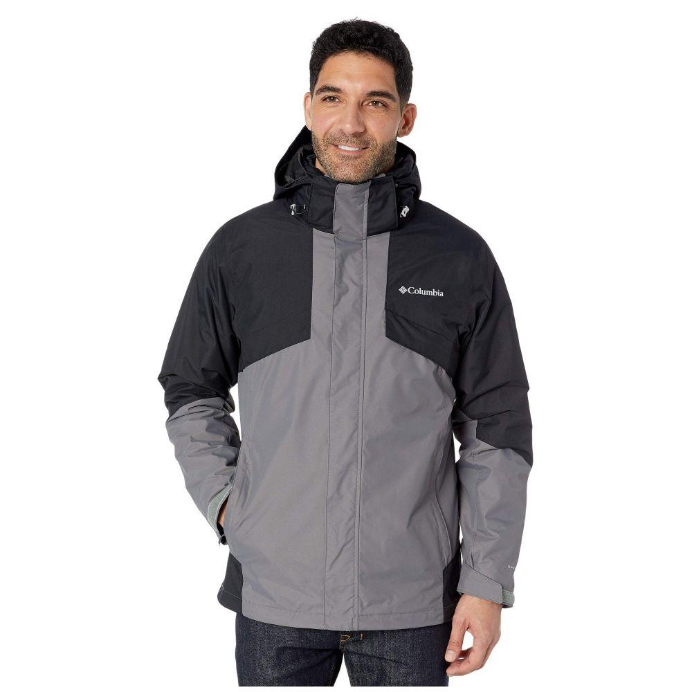コロンビア Columbia メンズ スキー・スノーボード ジャケット アウター【Bugaboo(TM) II Fleece Interchange Jacket】City Grey/Black/Nuclear/Black/City Grey Plaid