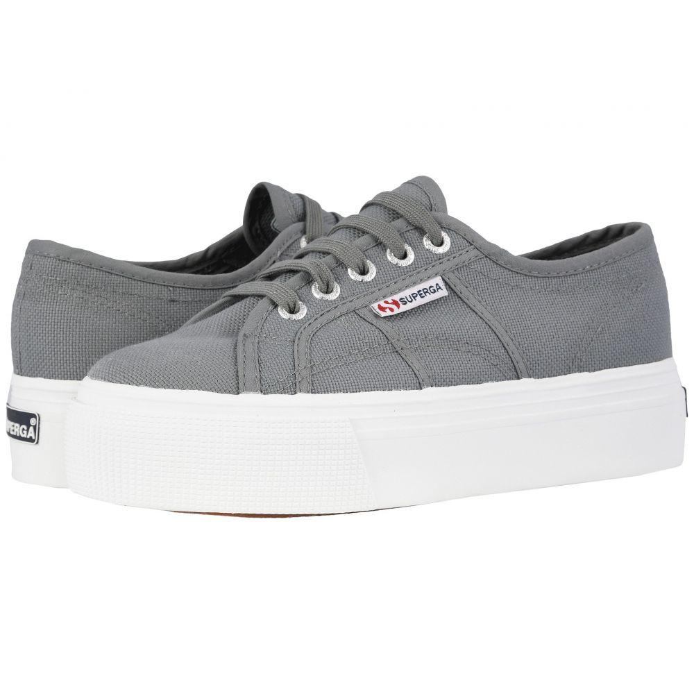 スペルガ Superga レディース スニーカー シューズ・靴【2790 Acotw Platform Sneaker】Grey Sage