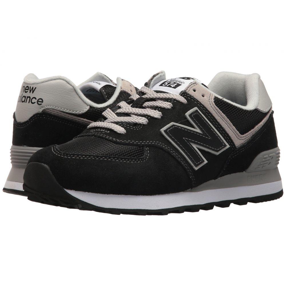 ニューバランス New Balance Classics レディース スニーカー シューズ・靴【WL574v2】Black/White