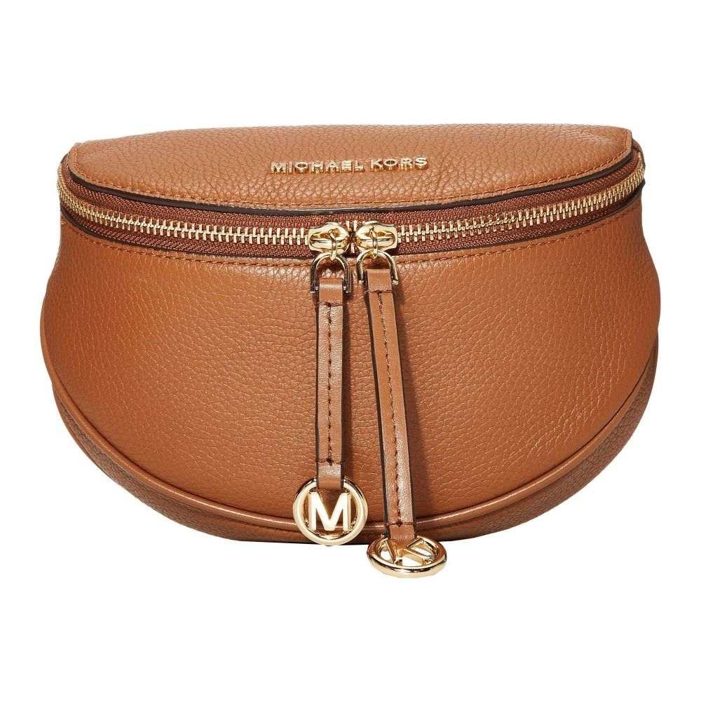 マイケル コース MICHAEL Michael Kors レディース ボディバッグ・ウエストポーチ バッグ【Bedford Legacy Medium Round Belt Bag Crossbody】Luggage