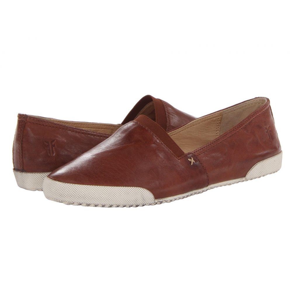 フライ Frye レディース スリッポン・フラット シューズ・靴【Melanie Slip On】Cognac Antique Soft Vintage