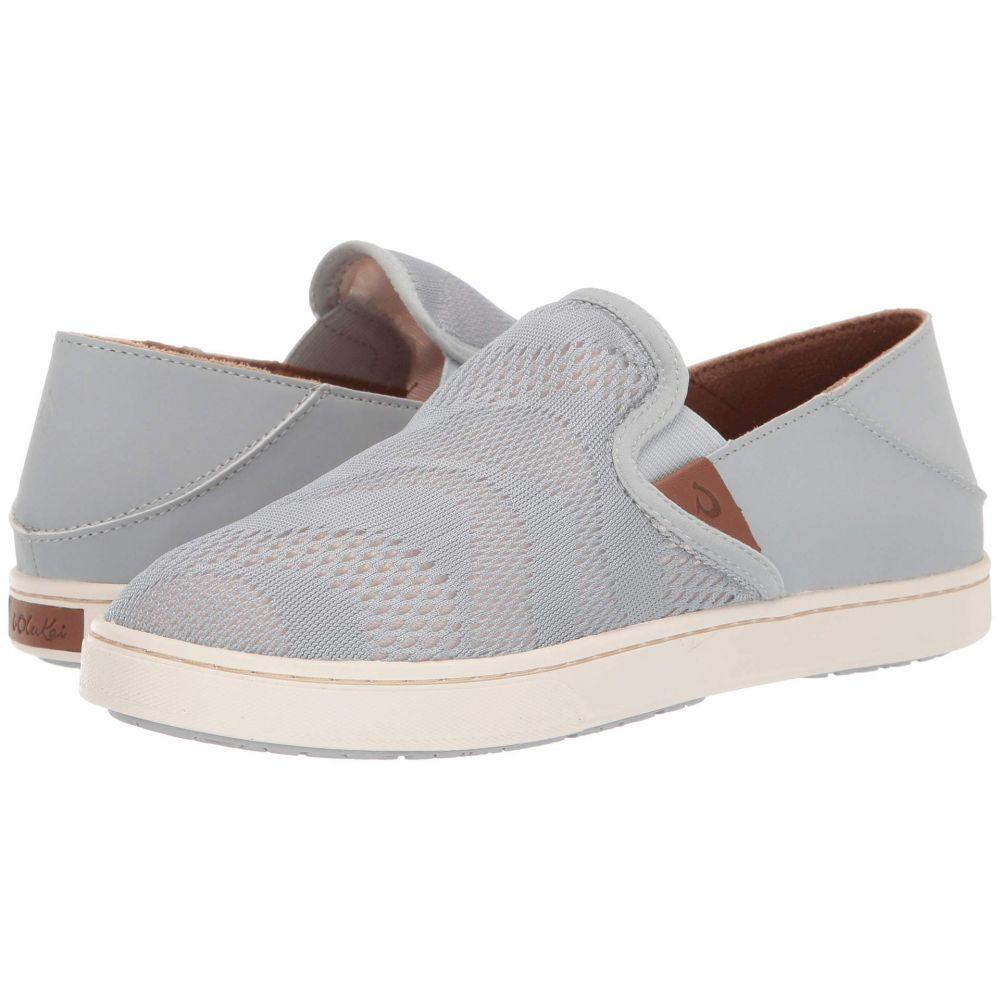 オルカイ OluKai レディース スニーカー シューズ・靴【Pehuea】Pale Grey/Tapa