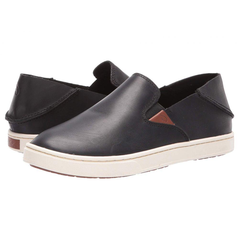 オルカイ OluKai レディース スニーカー シューズ・靴【Pehuea Leather】Black/Black