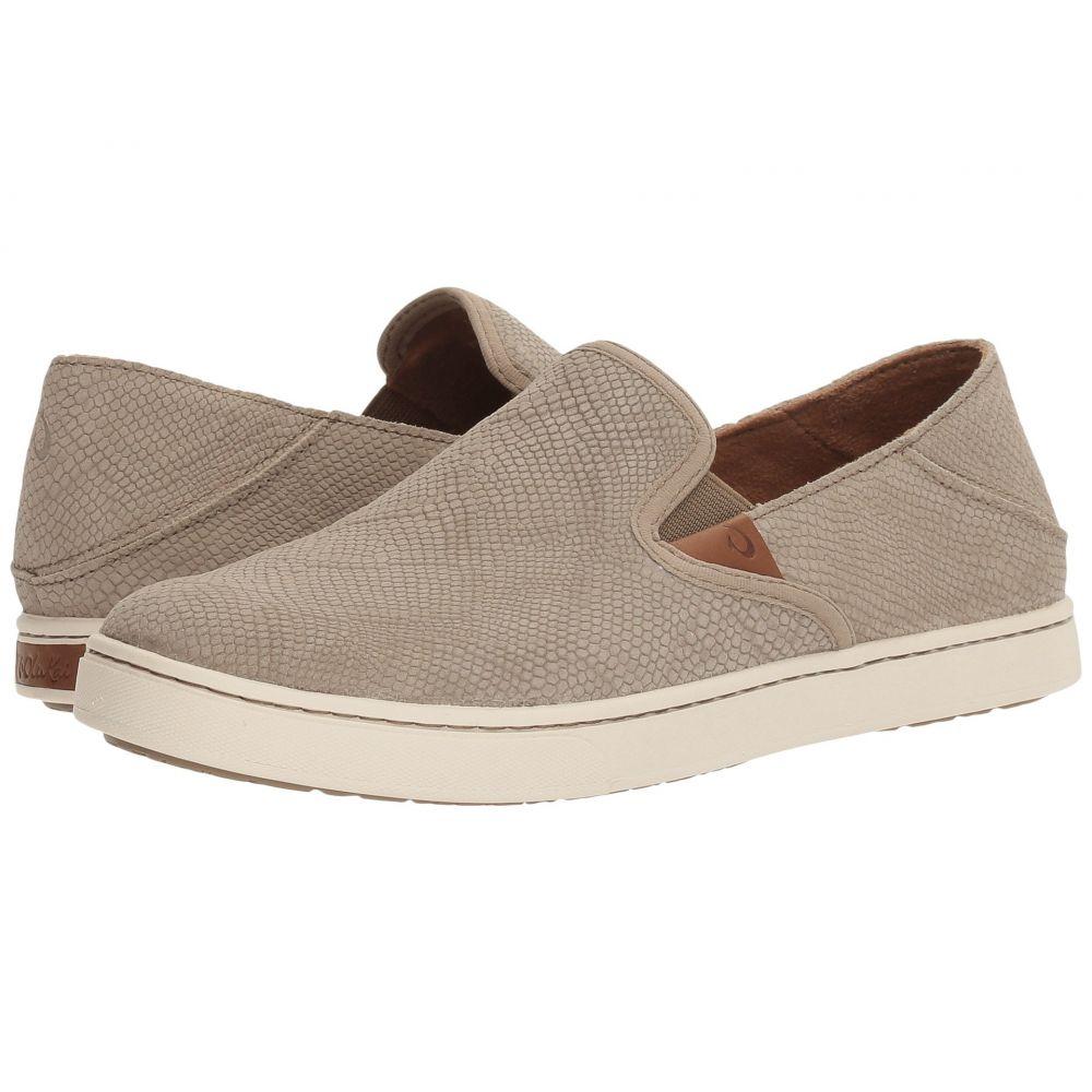 オルカイ OluKai レディース スニーカー シューズ・靴【Pehuea Leather】Clay Honu/Clay