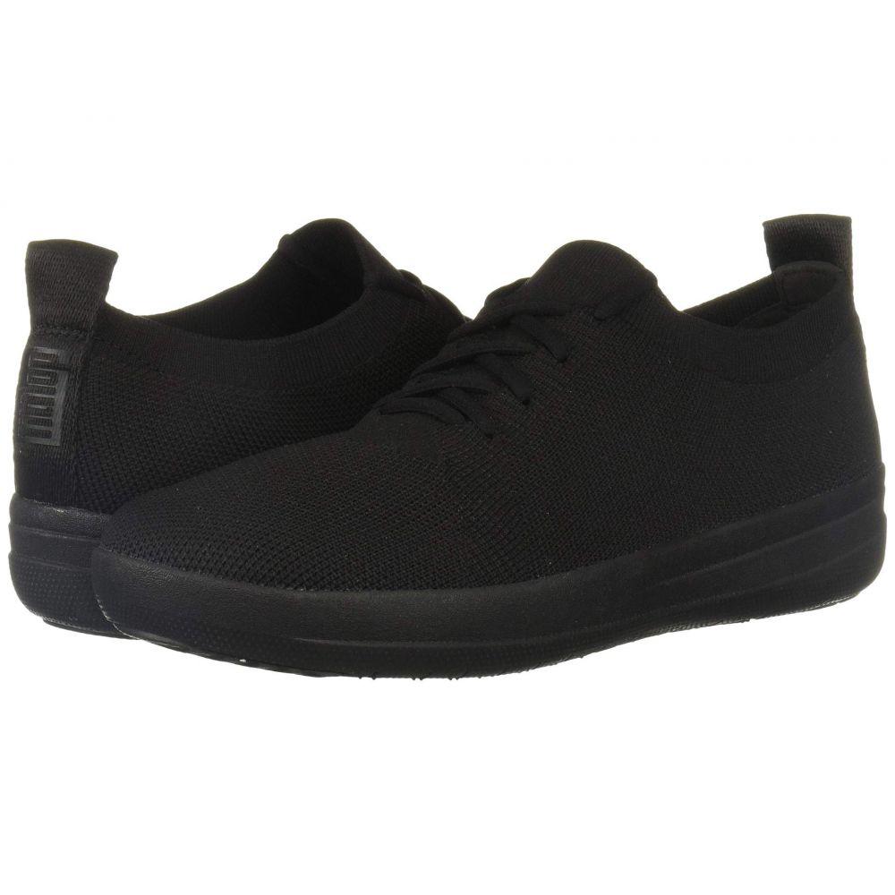 フィットフロップ FitFlop レディース スニーカー シューズ・靴【F-Sporty Uberknit Sneakers】All Black