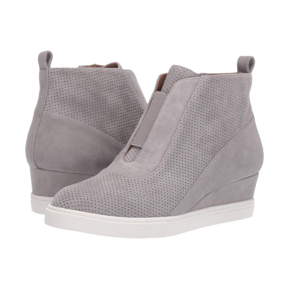 リネアパウロ LINEA Paolo レディース スニーカー ウェッジソール シューズ・靴【Anna Wedge Sneaker】Rock Perf Suede