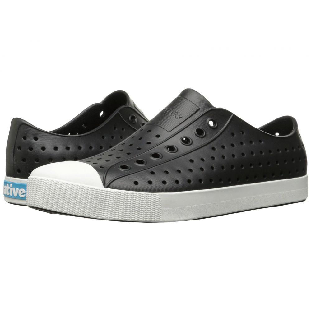 ネイティブ シューズ Native Shoes レディース スニーカー シューズ・靴【Jefferson】Jiffy Black/Shell White