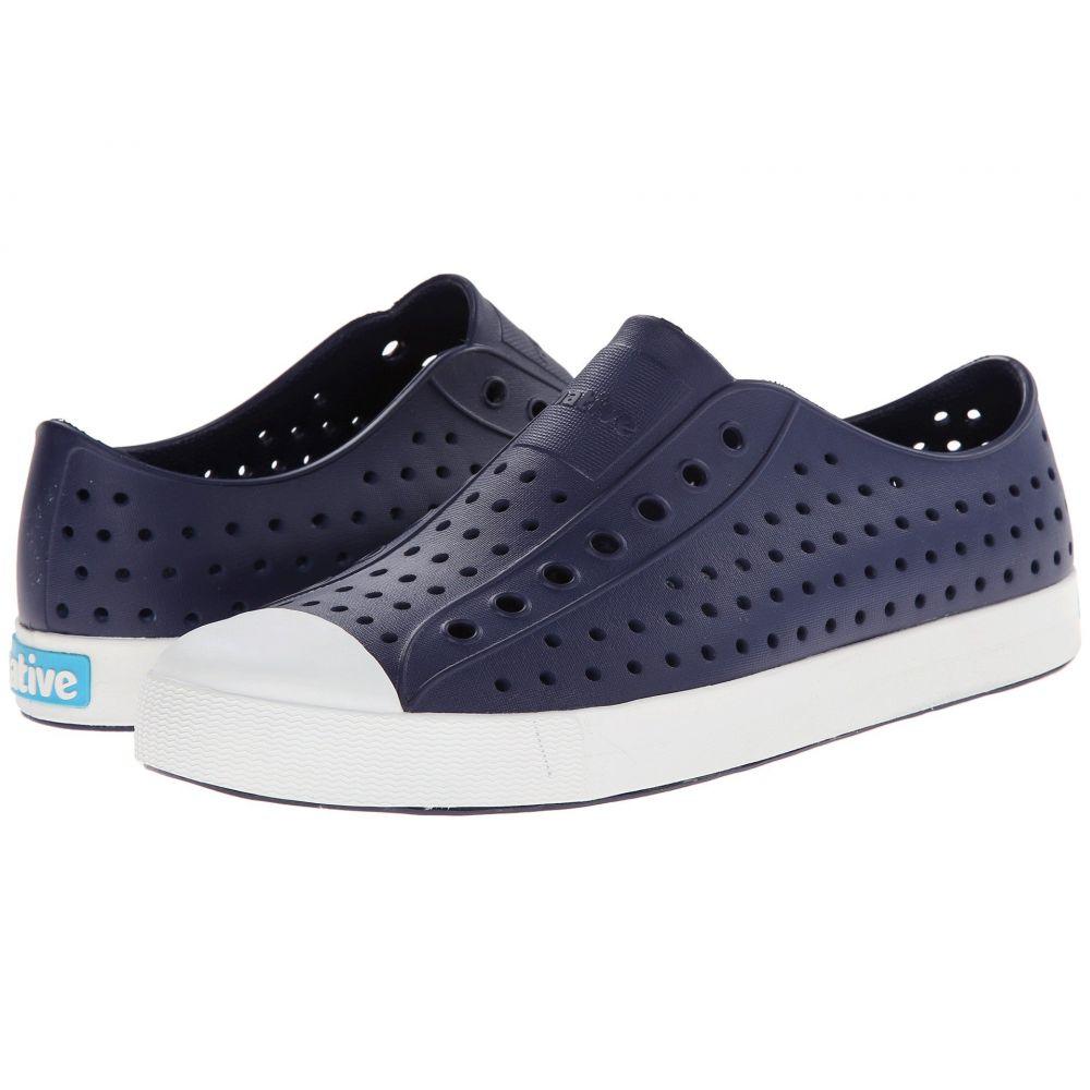 ネイティブ シューズ Native Shoes レディース スニーカー シューズ・靴【Jefferson】Regatta Blue/Shell White