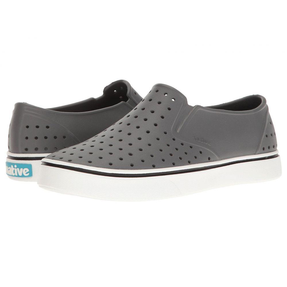 ネイティブ シューズ Native Shoes レディース スニーカー シューズ・靴【Miles】Dublin Grey/Shell White