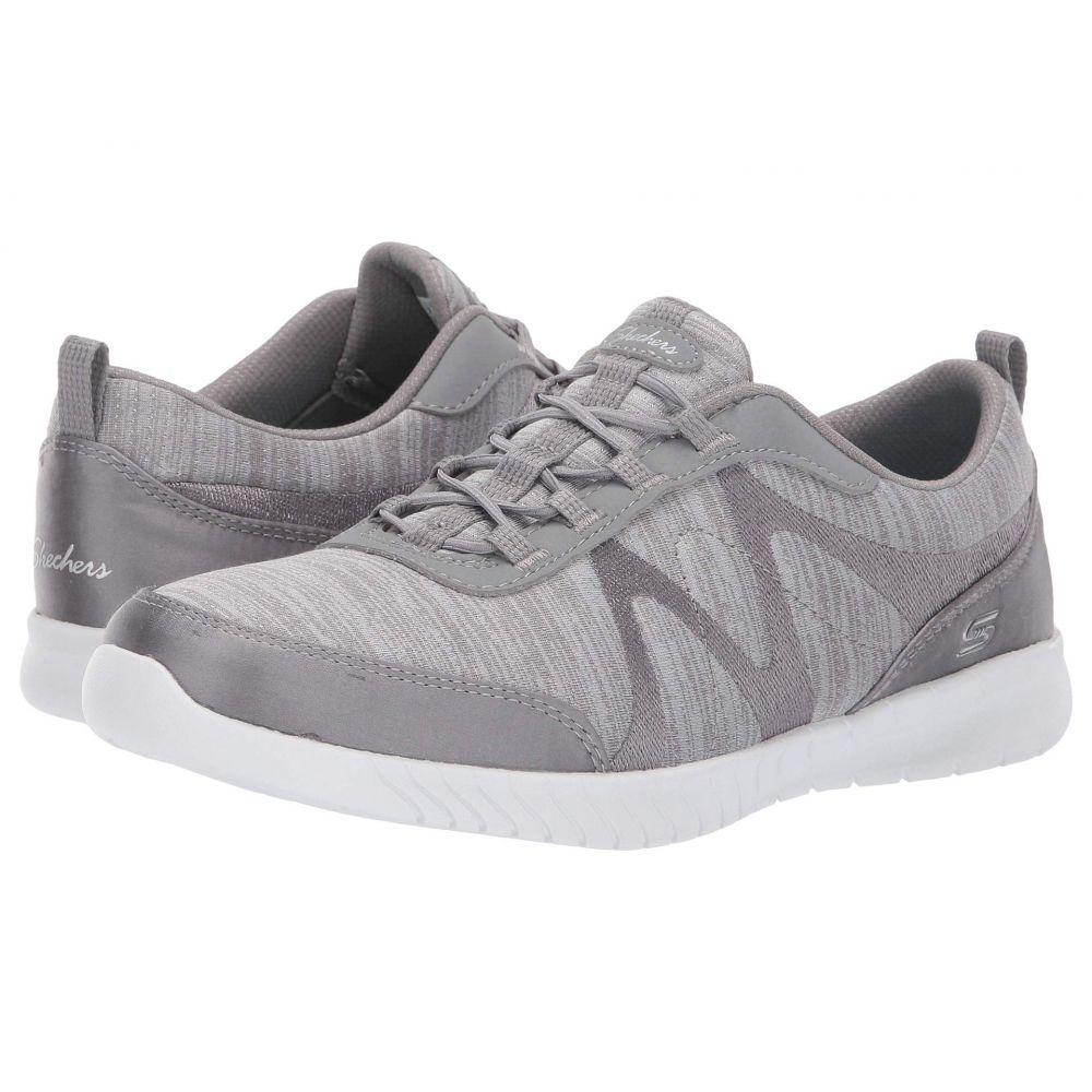 スケッチャーズ SKECHERS レディース スニーカー シューズ・靴【Wave-Lite - Fleeting】Grey