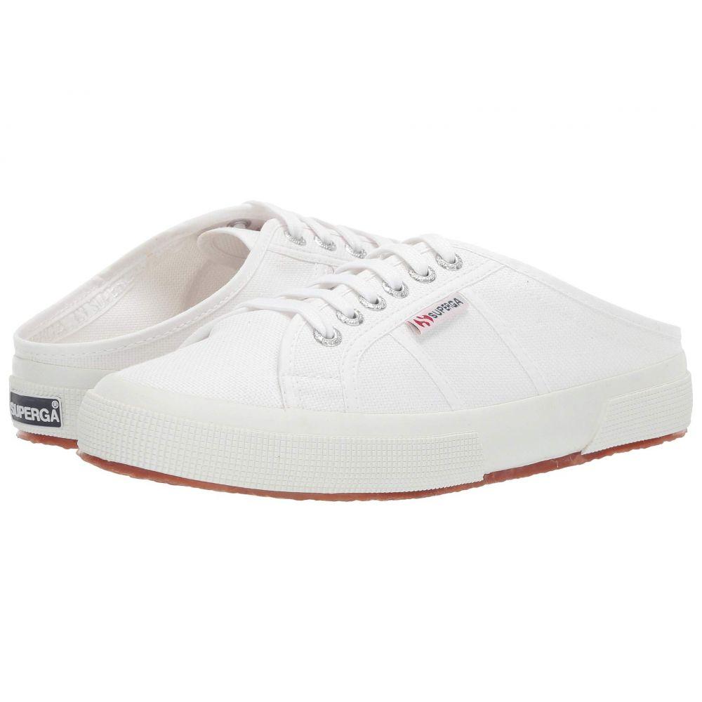 スペルガ Superga レディース スニーカー シューズ・靴【2551 COTU】White