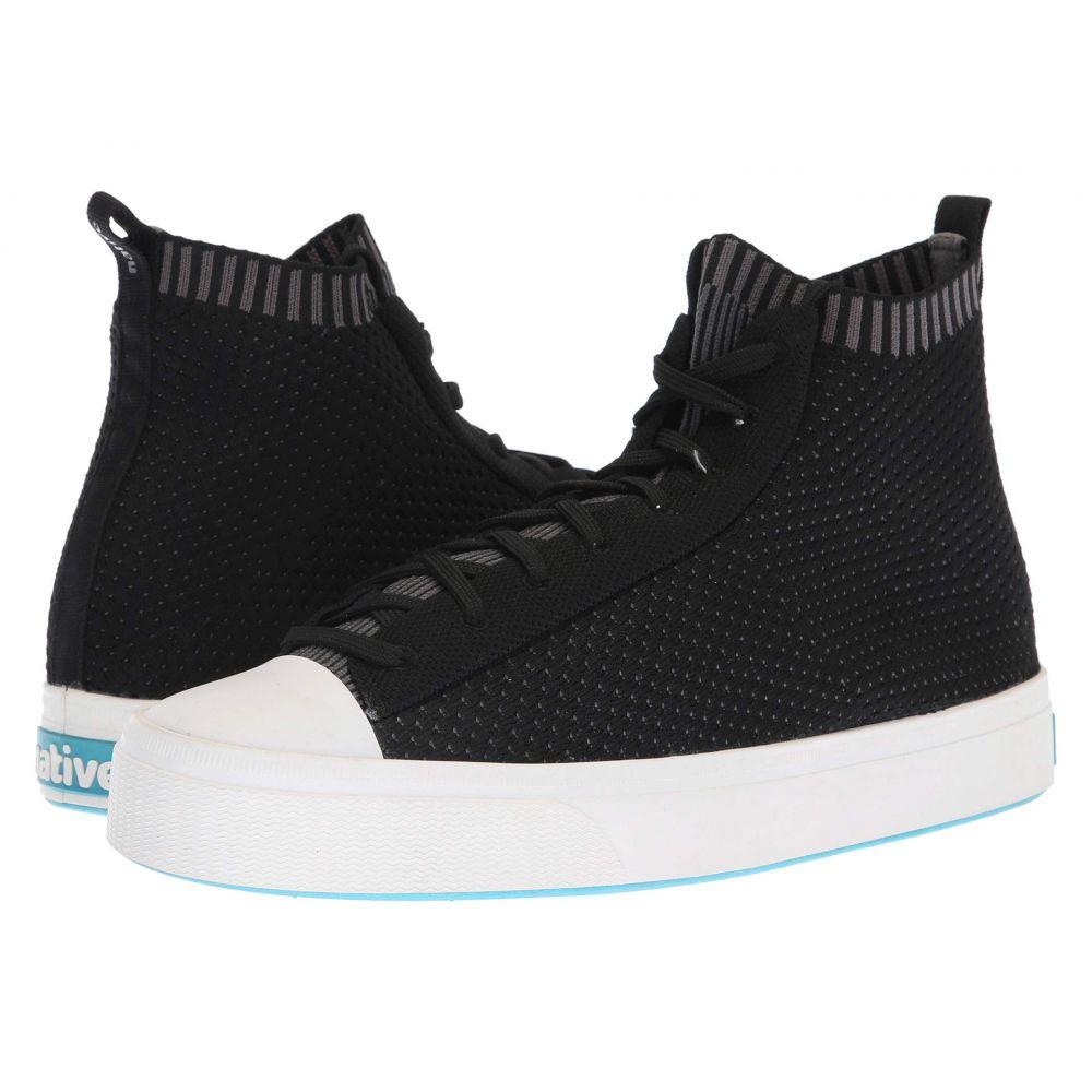 ネイティブ シューズ Native Shoes レディース スニーカー シューズ・靴【Jefferson 2.0 High】Jiffy Black/Shell White