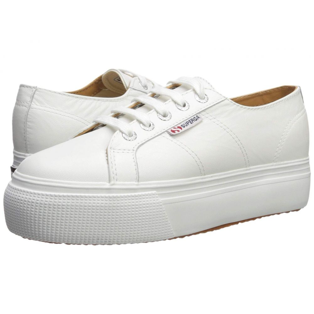 スペルガ Superga レディース スニーカー シューズ・靴【2790 Nappaleaw Sneaker】White