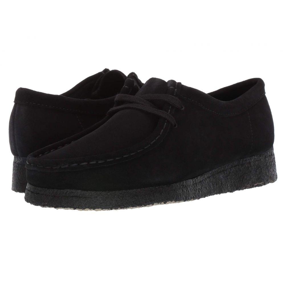 クラークス Clarks レディース ブーツ シューズ・靴【Wallabee】Black Suede