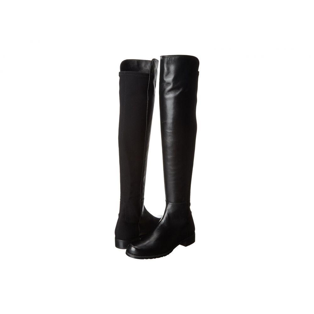 スチュアート ワイツマン Stuart Weitzman レディース ブーツ シューズ・靴【The 5050 Boot】Black Nappa Leather