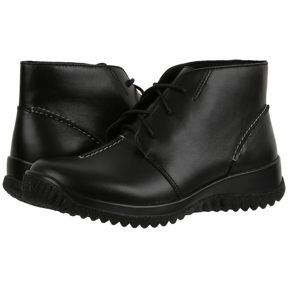ドリュー Drew レディース ブーツ シューズ・靴【Krista】Black Smooth Leather