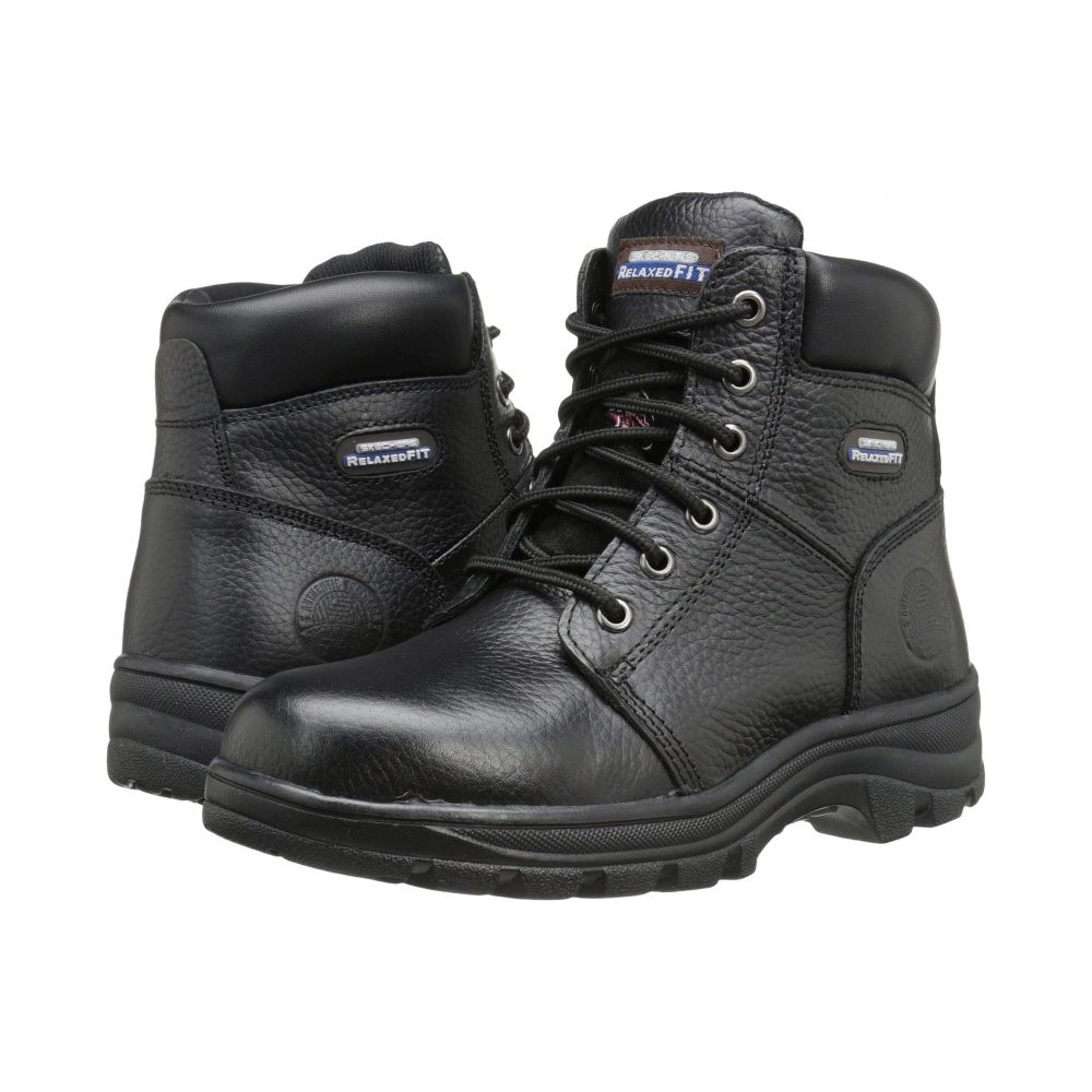 スケッチャーズ SKECHERS Work レディース ブーツ シューズ・靴【Workshire - Peril】Black