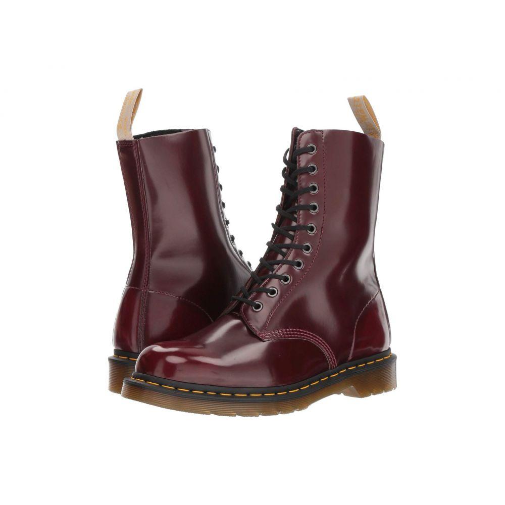 ドクターマーチン Dr. Martens レディース ブーツ シューズ・靴【1490 Vegan】Cherry Red Cambridge Brush