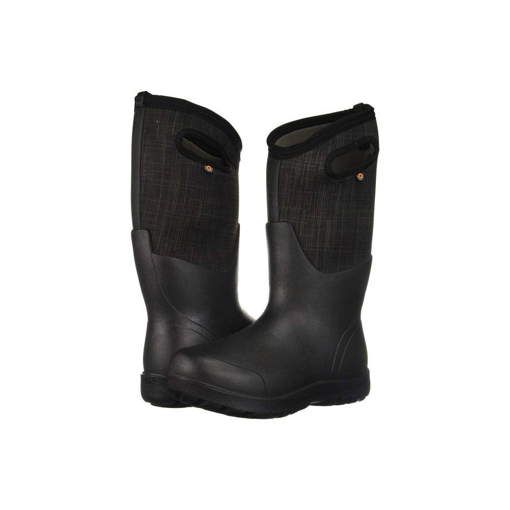 ボグス Bogs レディース ブーツ シューズ・靴【Neo-Classic Linen Tall】Black Multi