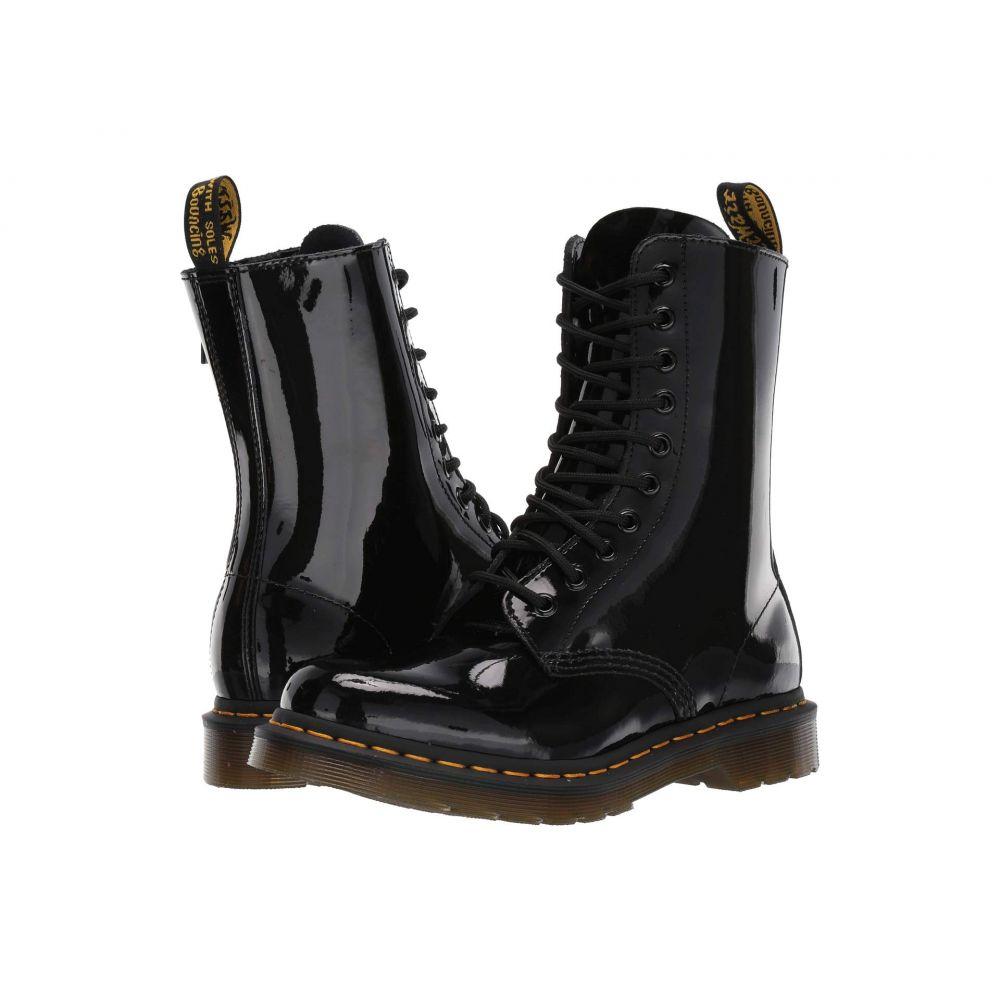 ドクターマーチン Dr. Martens レディース ブーツ シューズ・靴【1490 Core】Black Patent Lamper