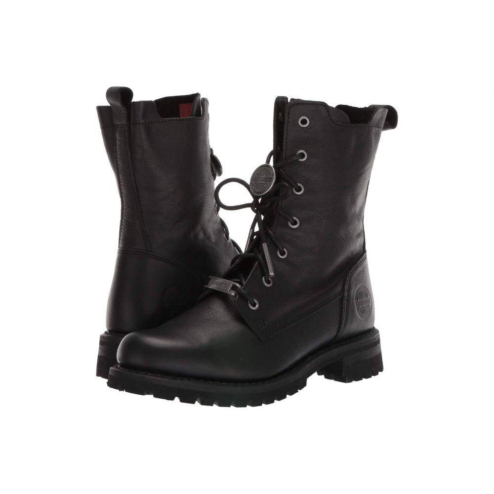 ハーレーダビッドソン Harley-Davidson レディース ブーツ シューズ・靴【Wicklyn】Black