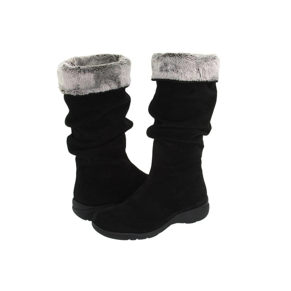 ラ カナディアン La Canadienne レディース ブーツ シューズ・靴【Trevis】Black Suede