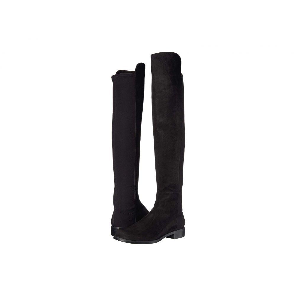 スチュアート ワイツマン Stuart Weitzman レディース ブーツ シューズ・靴【The 5050 Boot】Black Suede/Stretch Gabardine