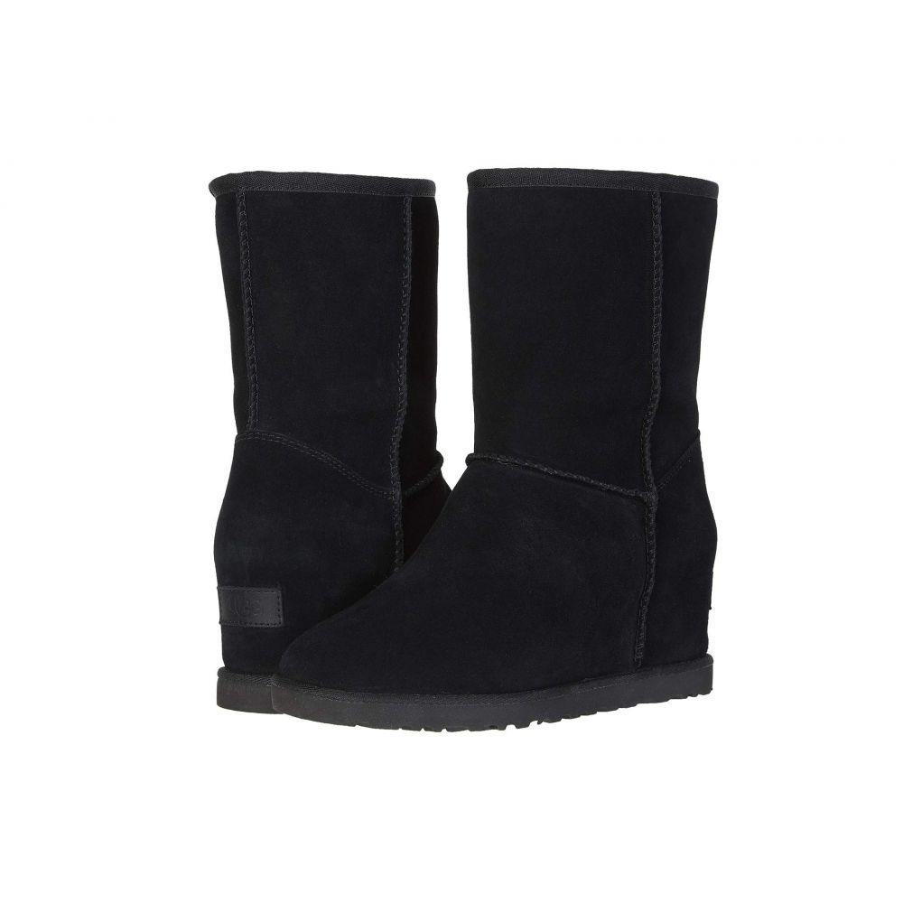 アグ UGG レディース ブーツ シューズ・靴【Classic Femme Short】Black