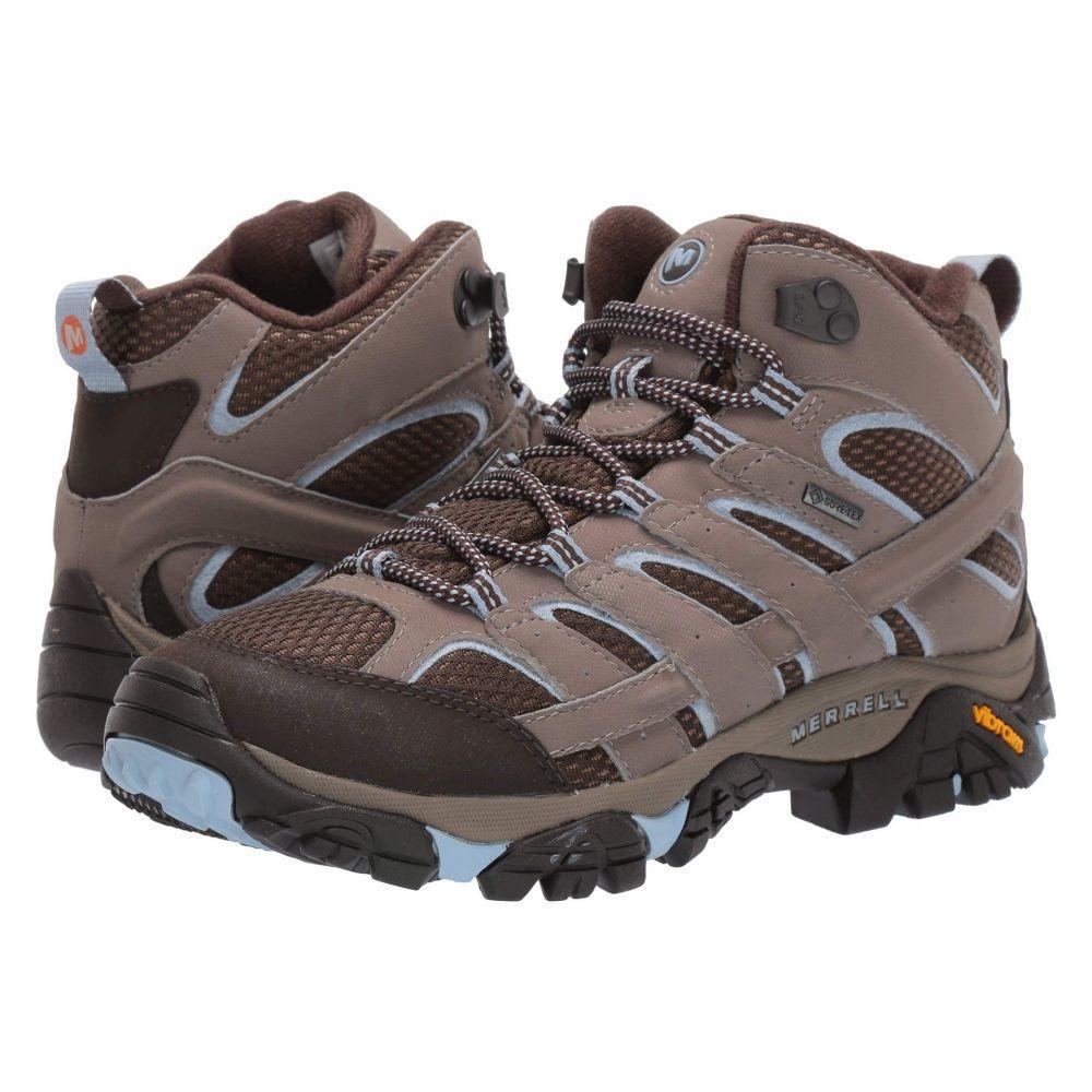 メレル Merrell レディース ハイキング・登山 シューズ・靴【Moab 2 Mid GTX】Brindle