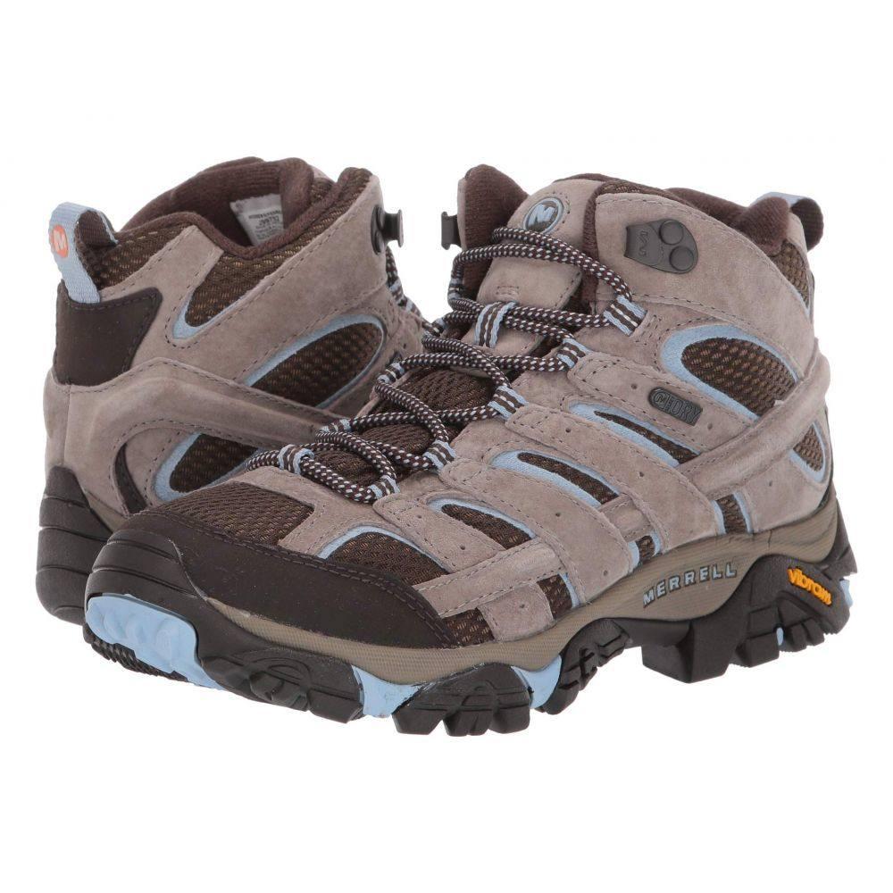 メレル Merrell レディース ハイキング・登山 シューズ・靴【Moab 2 Mid Waterproof】Brindle