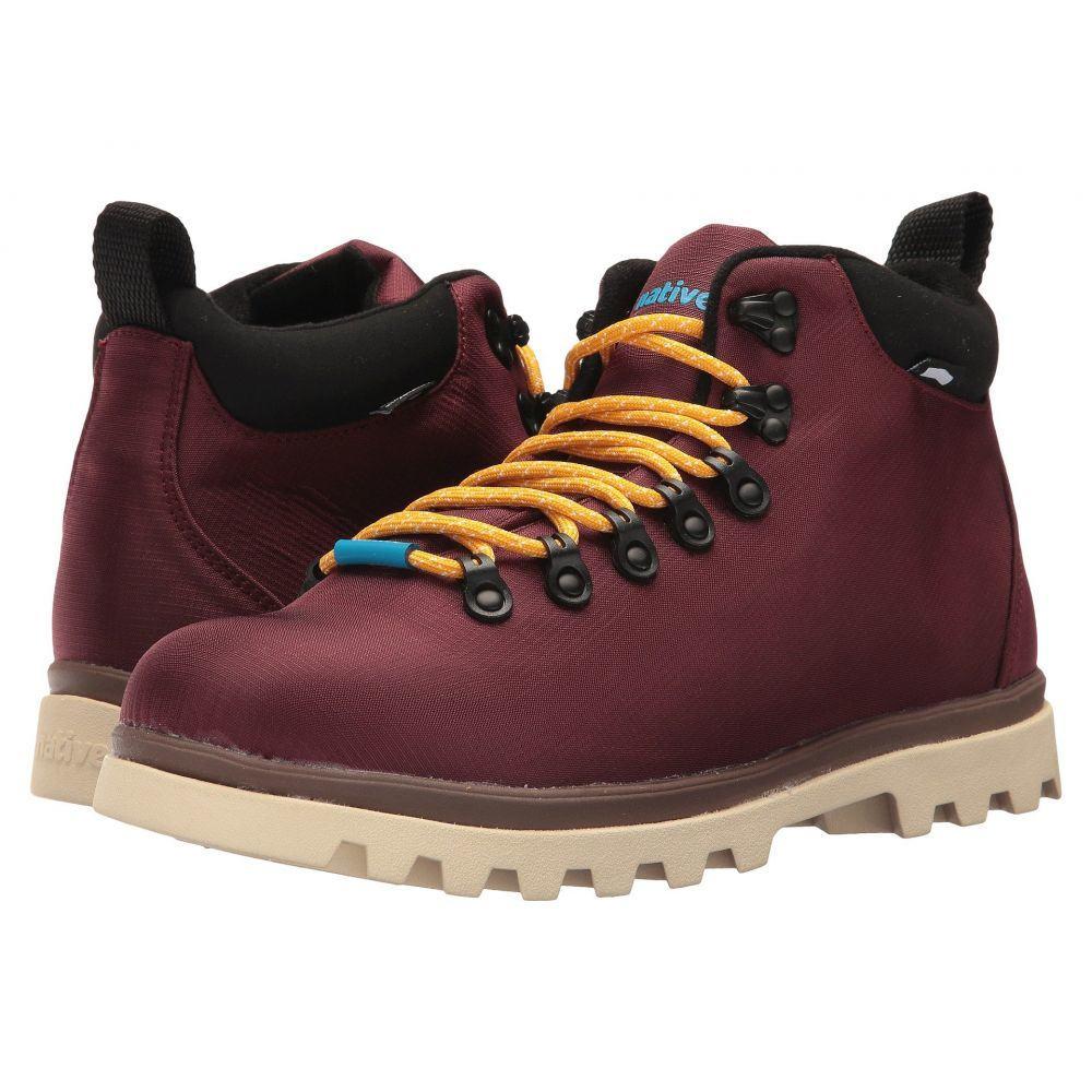 ネイティブ シューズ Native Shoes レディース ハイキング・登山 シューズ・靴【Fitzsimmons Treklite】Spice Red/Howler Brown/Bone White