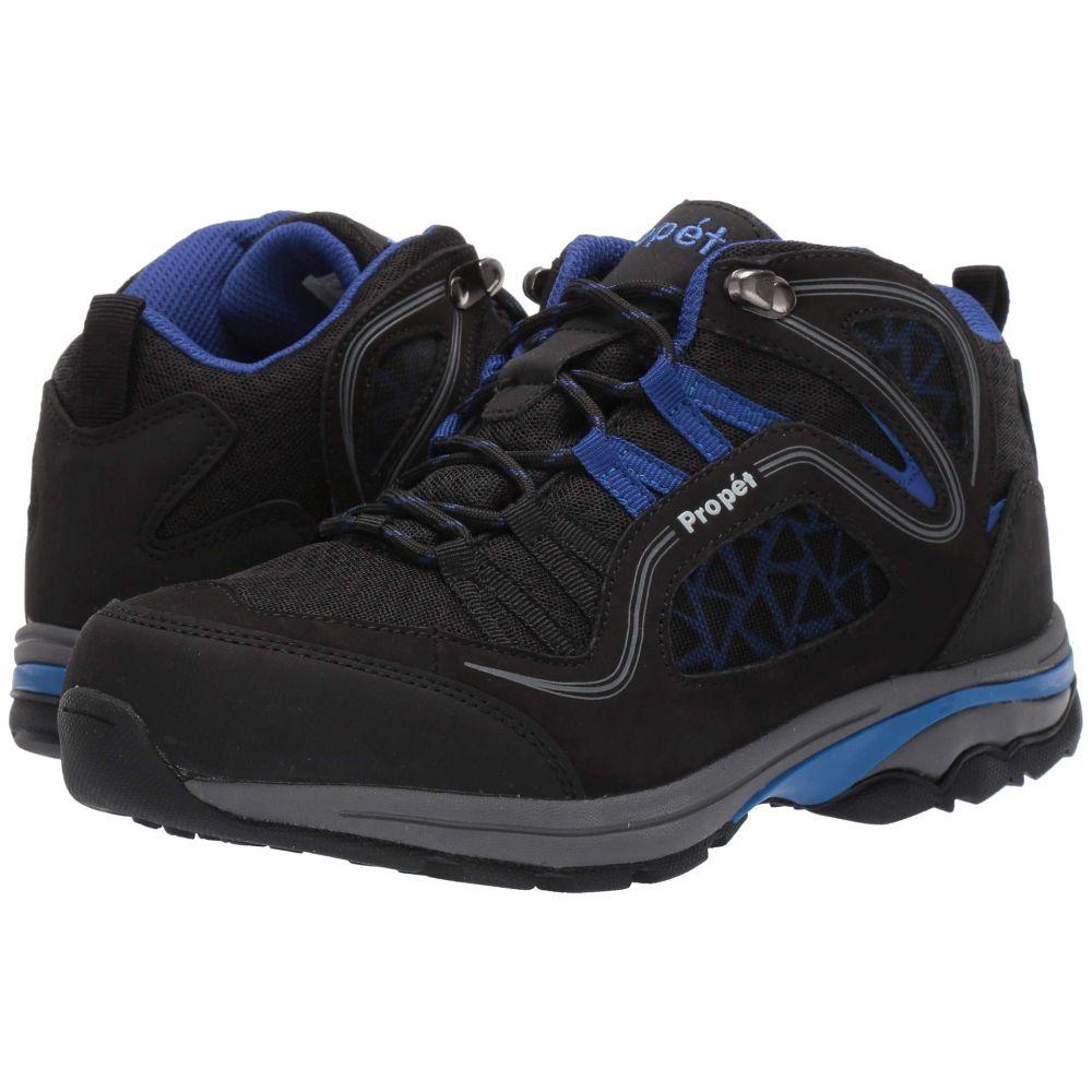 プロペット Propet レディース ハイキング・登山 シューズ・靴【Peak】Black/Royal Blue