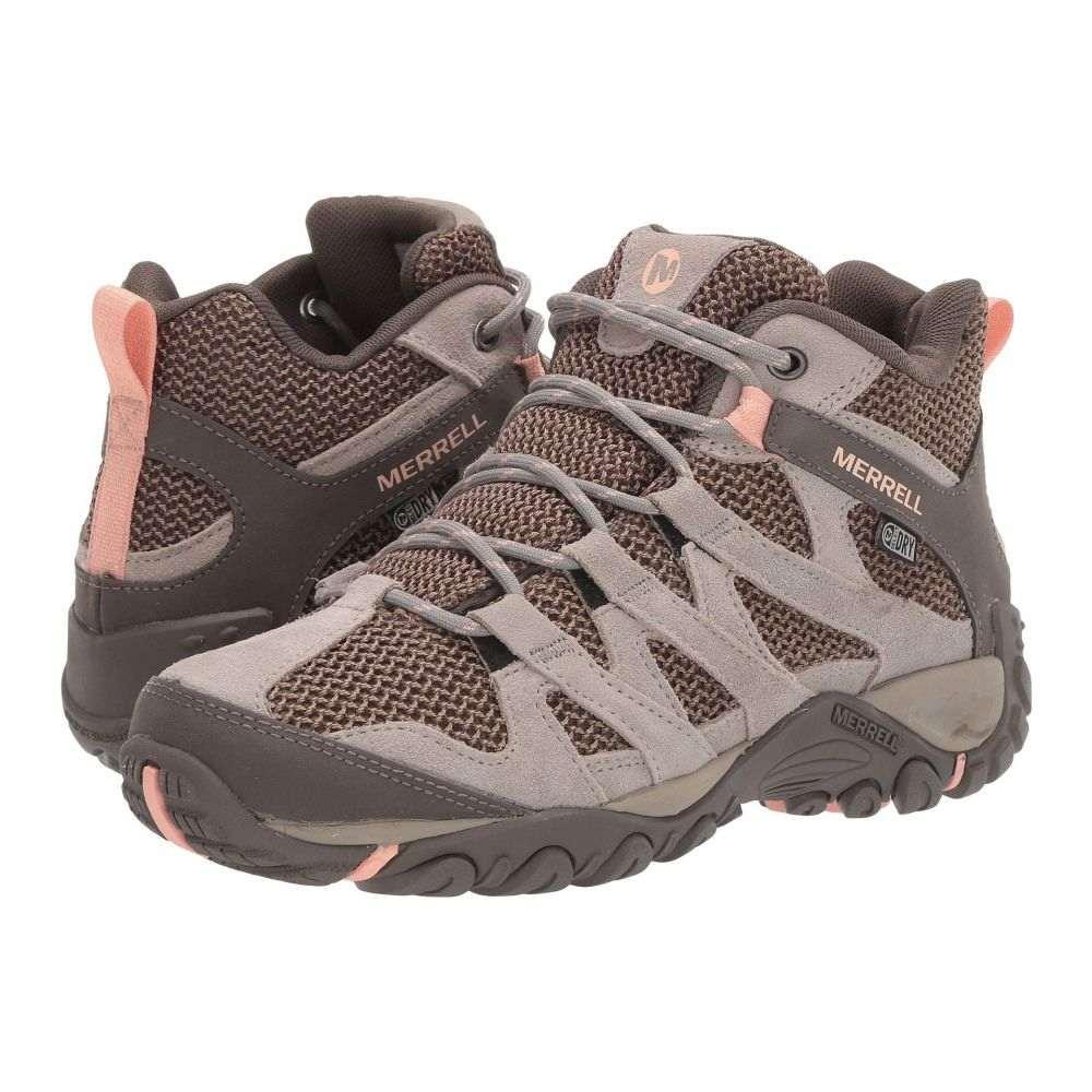 メレル Merrell レディース ハイキング・登山 シューズ・靴【Alverstone Mid Waterproof】Aluminum