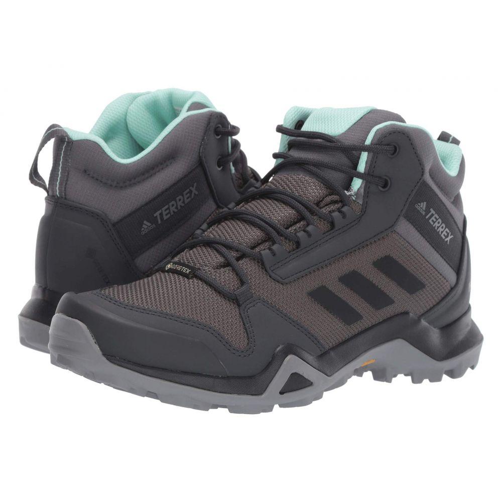 アディダス adidas Outdoor レディース ハイキング・登山 シューズ・靴【Terrex AX3 Mid GTX】Grey Five/Black/Clear Mint