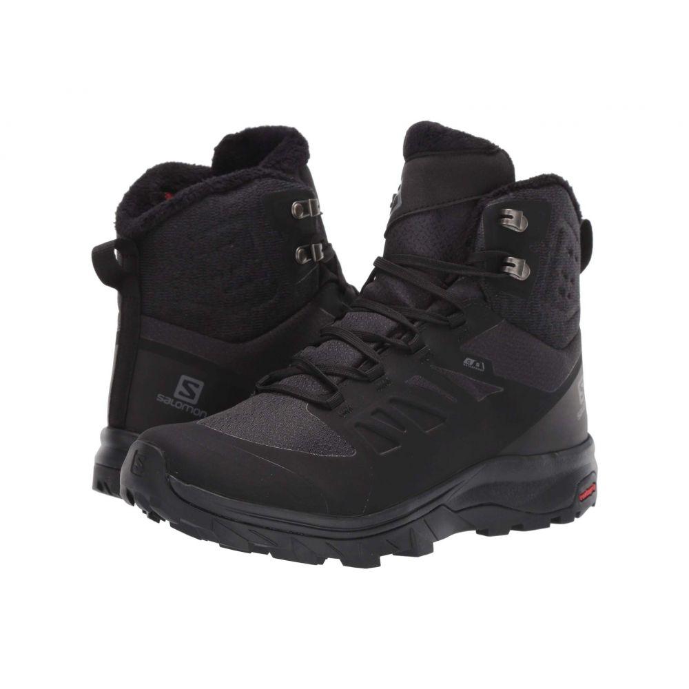 サロモン Salomon レディース ハイキング・登山 シューズ・靴【Outblast TS CSWP】Black/Black/Black