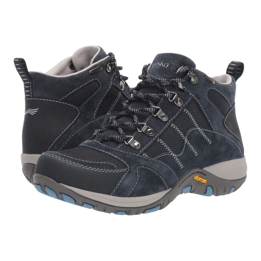 ダンスコ Dansko レディース ハイキング・登山 シューズ・靴【Paxton】Navy Suede