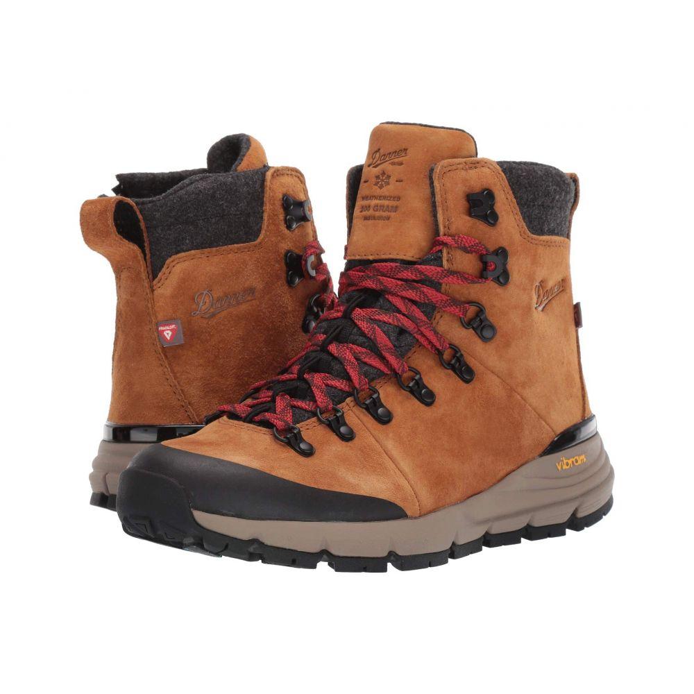 ダナー Danner レディース ハイキング・登山 シューズ・靴【5' Arctic 600 Side-Zip 200G】Brown/Red
