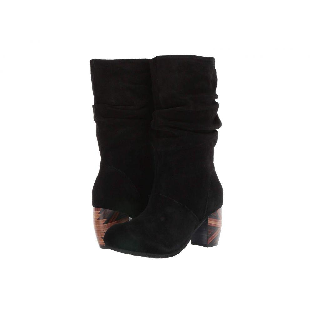 ラモールドピード L'Amour Des Pieds レディース ブーツ シューズ・靴【Pamby】Black Suede