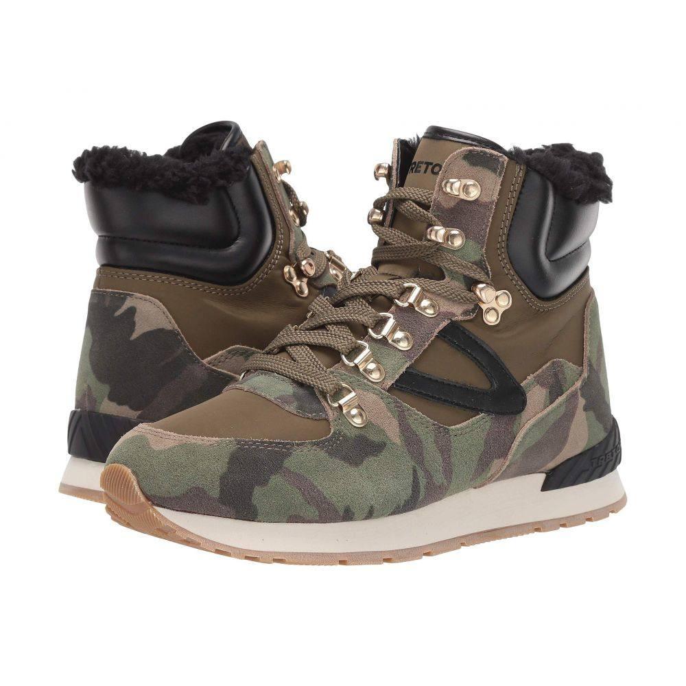トレトン Tretorn レディース ハイキング・登山 シューズ・靴【Lily 2】Olive Multi