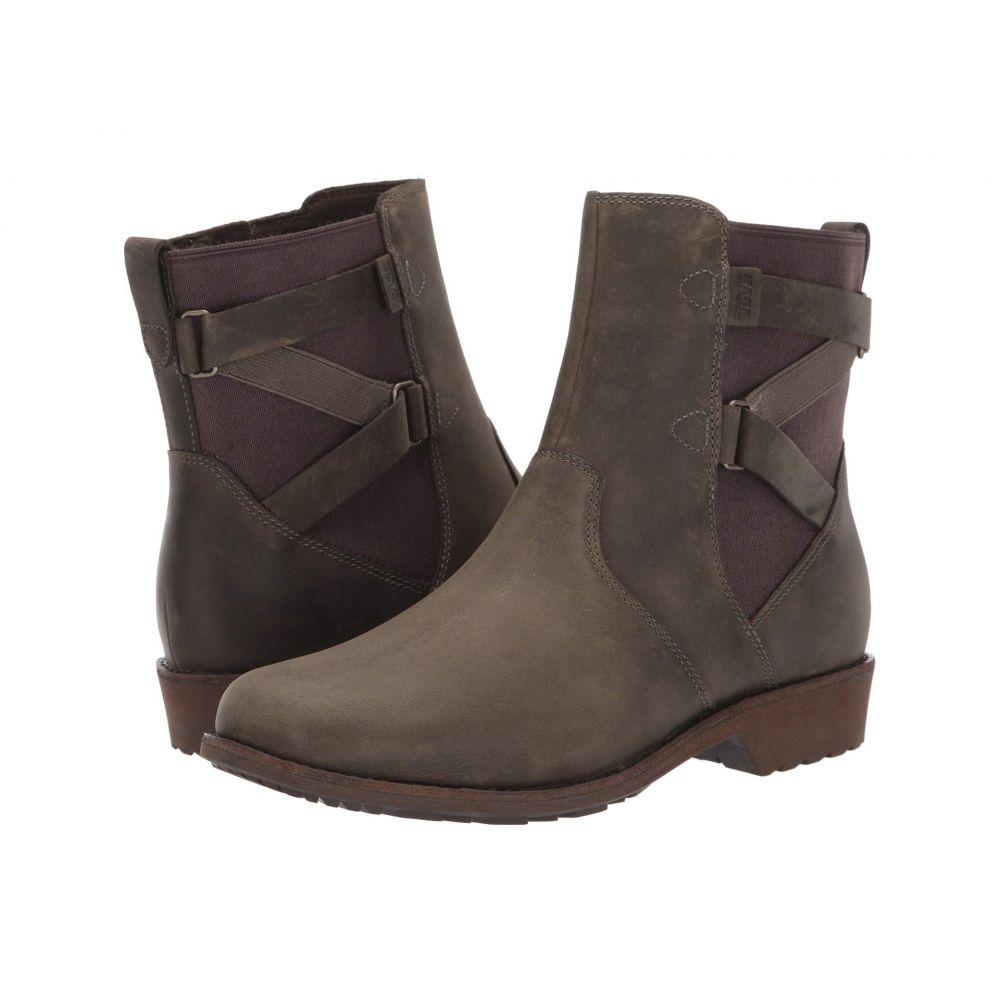 テバ Teva レディース ブーツ シューズ・靴【Ellery Ankle WP】Dark Olive