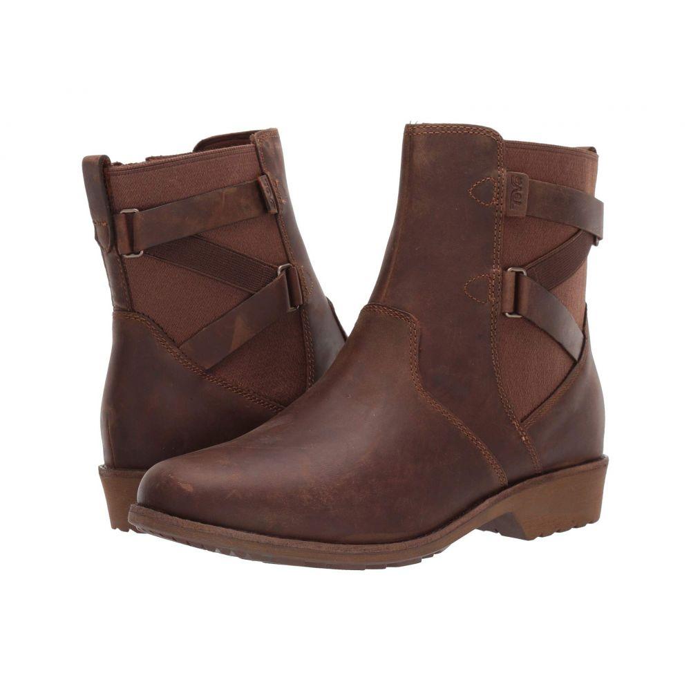 テバ Teva レディース ブーツ シューズ・靴【Ellery Ankle WP】Pecan