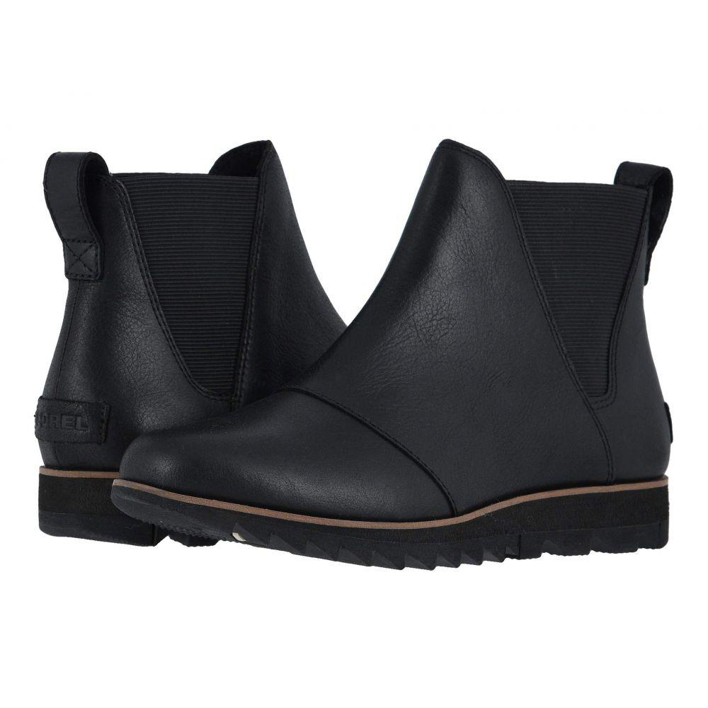 ソレル SOREL レディース ブーツ シューズ・靴【Harlow(TM) Chelsea】Black