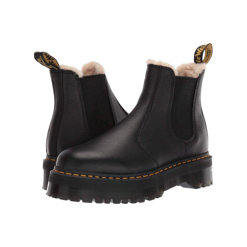 ドクターマーチン Dr. Martens レディース ブーツ シューズ・靴【2976 Platform Faux-Fur Lined】Black