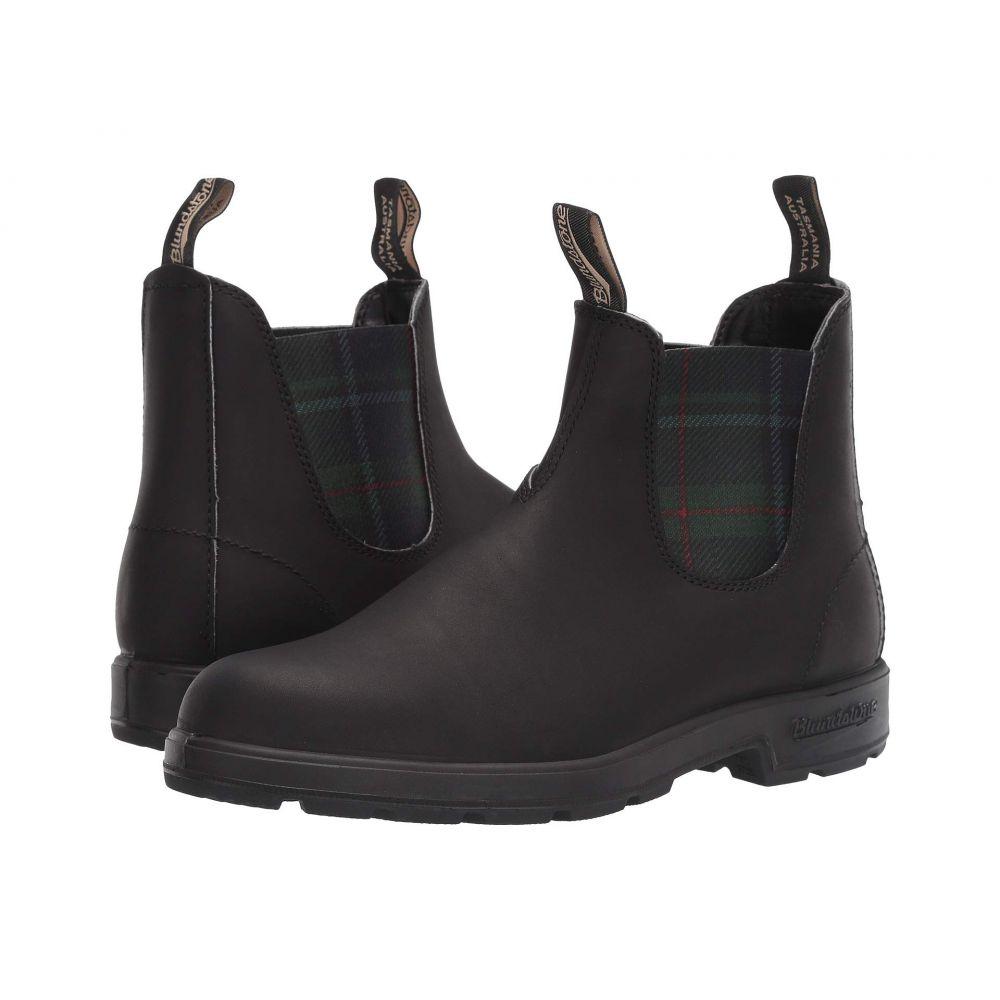 ブランドストーン Blundstone レディース ブーツ シューズ・靴【BL1614】Black/Tartan Green