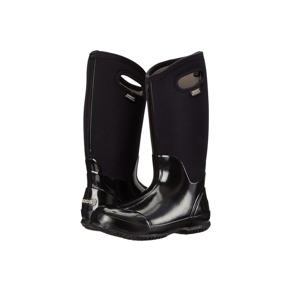 ボグス Bogs レディース ブーツ シューズ・靴【Classic High Handles】Black Shiney