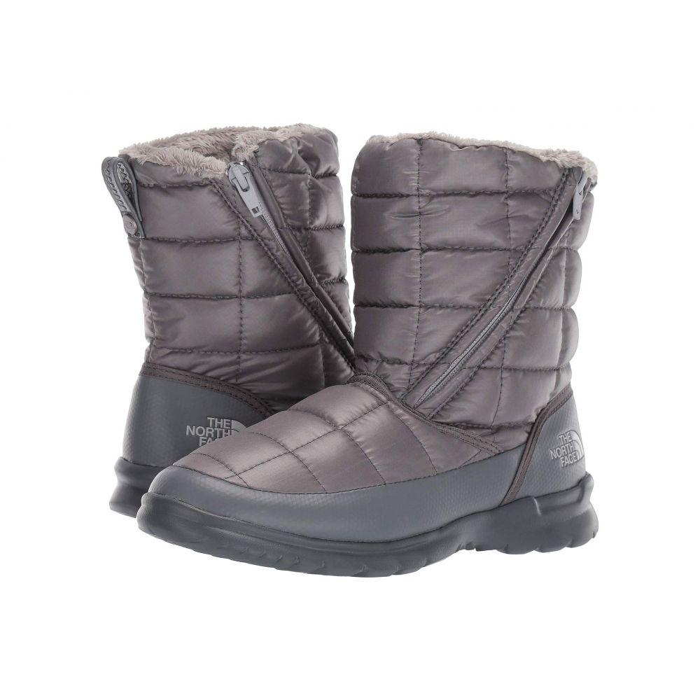 ザ ノースフェイス The North Face レディース ブーツ シューズ・靴【Thermoball Microbaffle Bootie Zip】Zinc Grey/Micro Chip Grey