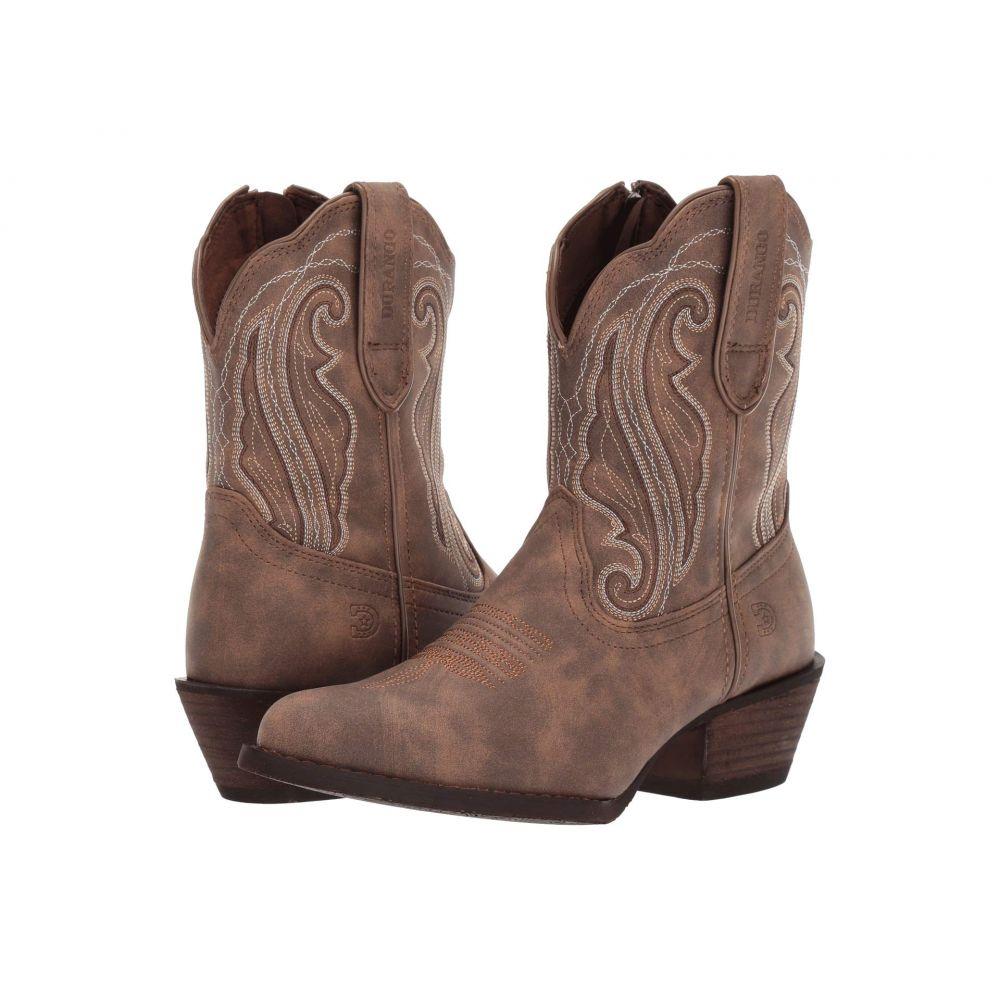 デュランゴ Durango レディース ブーツ シューズ・靴【8' Crush Shortie】Driftwood