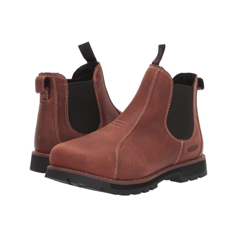 キーン Keen Utility レディース ブーツ シューズ・靴【Seattle Romeo Aluminum Toe】Gingerbread/Black