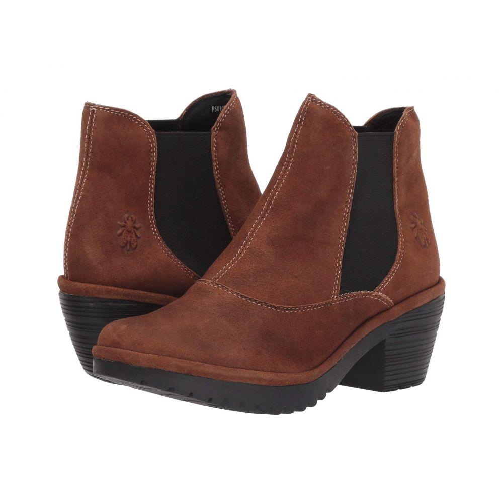 フライロンドン FLY LONDON レディース ブーツ シューズ・靴【WOTE078FLY】Cognac Ranch